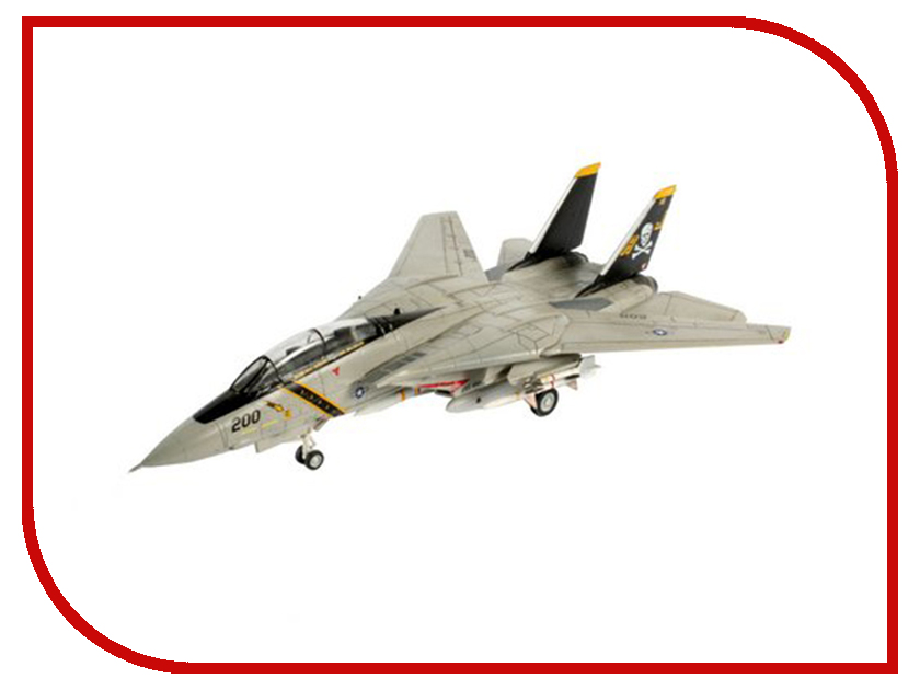 Сборная модель Revell Cамолет Истребитель F-14A Tomcat 04021R f 14a tomcat us navy 1 200 hogan united states naval fighter weapons school