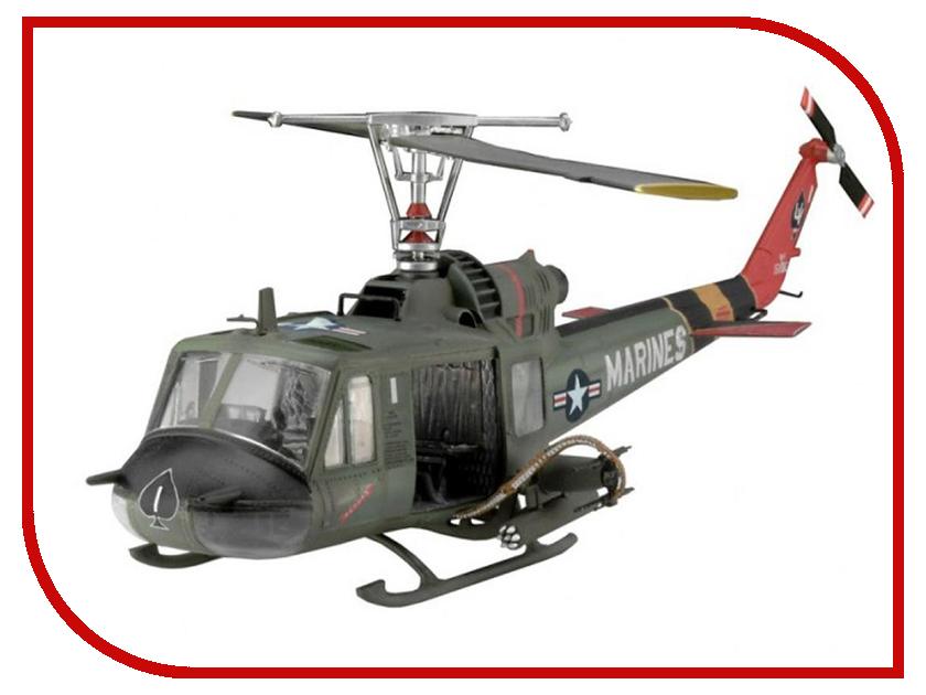 Сборная модель Revell Вертолет Bell UH-1C/B Huey Hog 04476R revell набор вертолет fly out paintin revell
