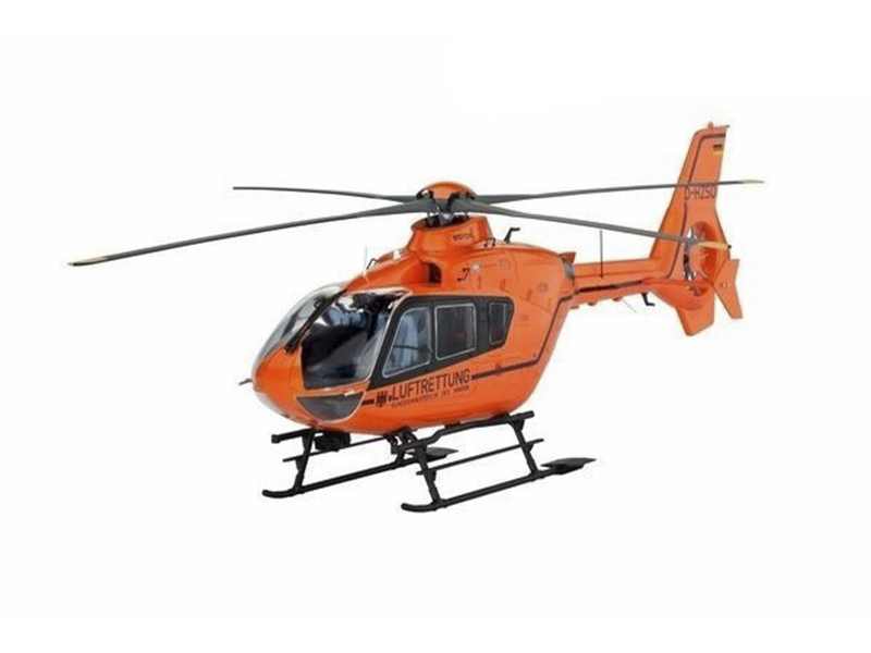 Сборная модель Revell Вертолет EC 135 T2i Luftrettung 04644R цена