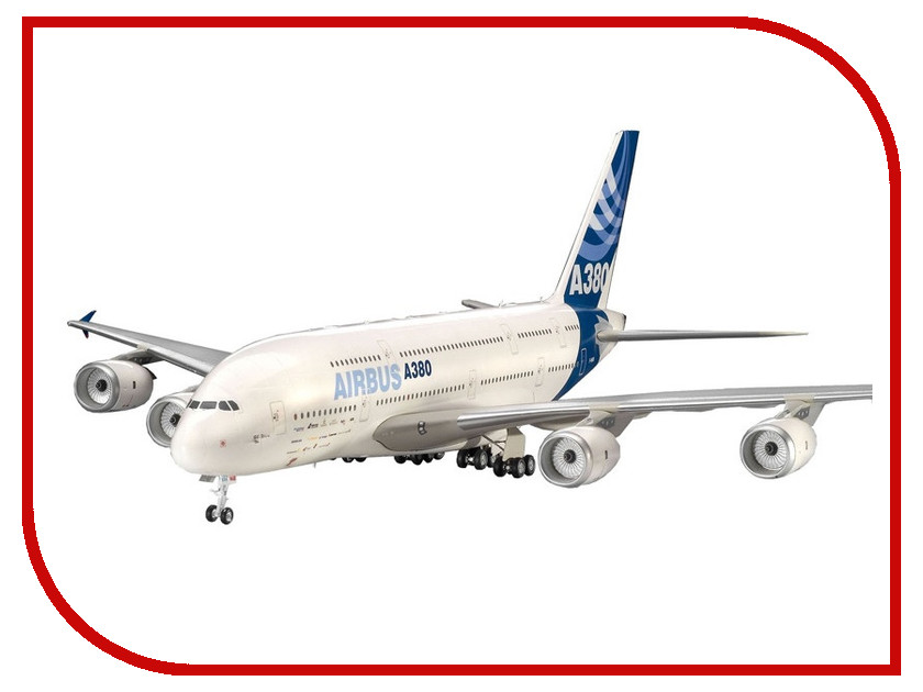 Сборная модель Revell Самолет Пассажирский Airbus A380 First Flight 04218R сборная модель revell самолет fairey gannet t 5