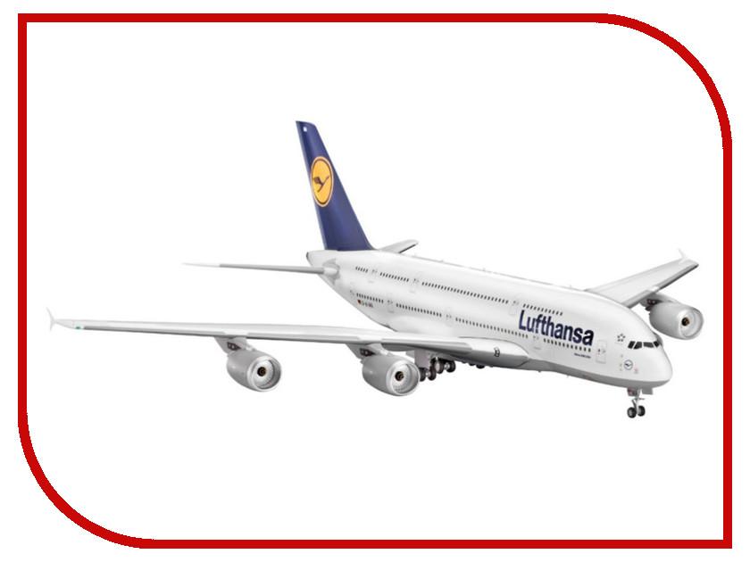 Сборная модель Revell Самолет Пассажирский Airbus A380 Lufthansa 04270R