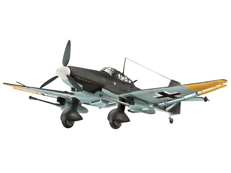 Сборная модель Revell Самолет Junkers Ju 87 G-2 Tank Buster 04692R сборная модель revell самолет panavia tornado gr 1 raf 04619r