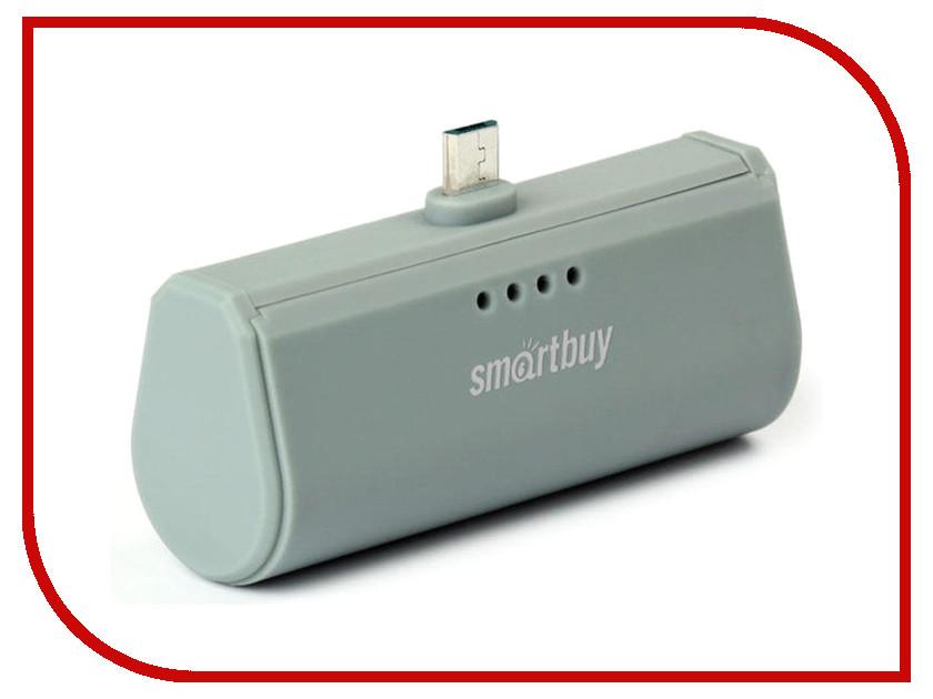 Аккумулятор SmartBuy Turbo 2200mAh Micro-USB Grey SBPB-220 стоимость