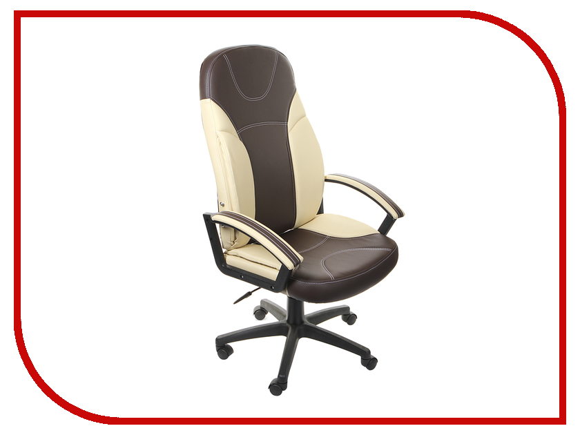 Компьютерное кресло TetChair Твистер Brown-Beige компьютерное кресло tetchair kappa черный