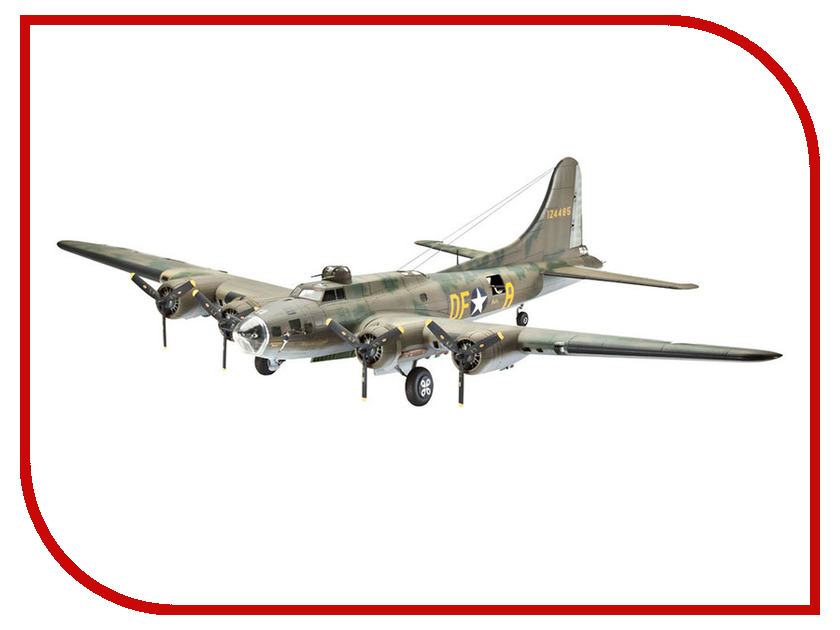 Сборная модель Revell Самолет B-17F Memphis Belle 04279R