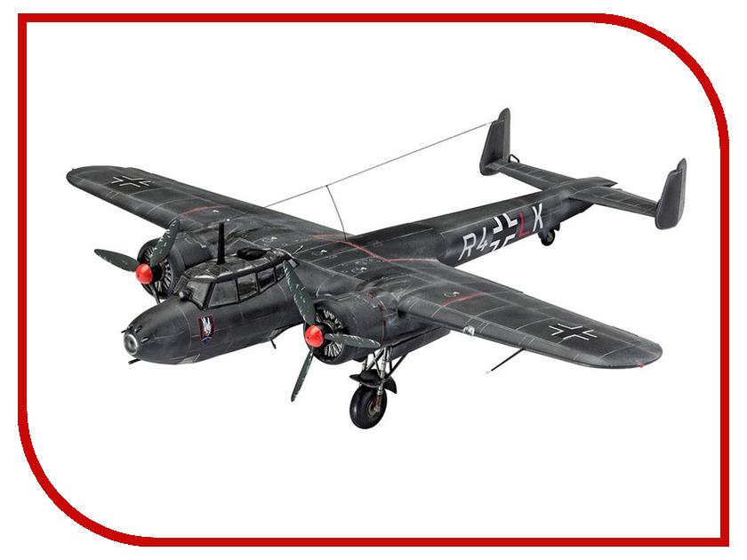Сборная модель Revell Самолет Бомбардировщик Dornier Do 17Z-10 03933R revell самолет бомбардировщик боинг b 17g летающая крепость американский