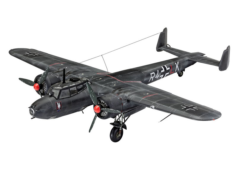 Сборная модель Revell Самолет Бомбардировщик Dornier Do 17Z-10 03933R сборная модель revell крестокрыл