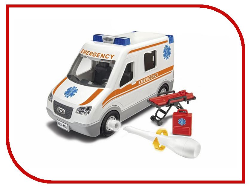 Сборная модель Revell Набор для детей Машина скорой помощи revell набор вертолет fly out paintin revell