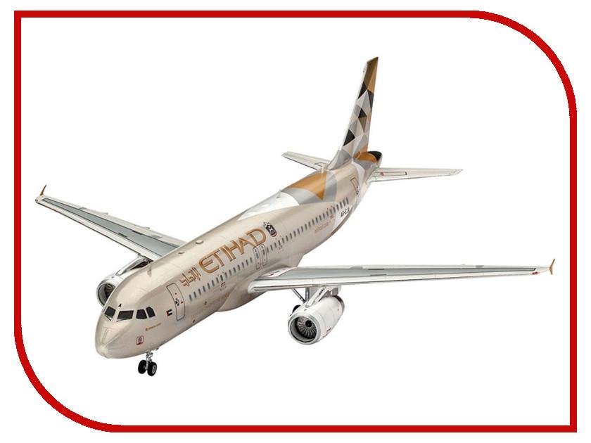 Сборная модель Revell Самолет Пассажирский Airbus A320 Etihad 03968R самолеты и вертолеты revell сборная модель сборная модель пассажирский самолет dhc 6 twin otter 1 72