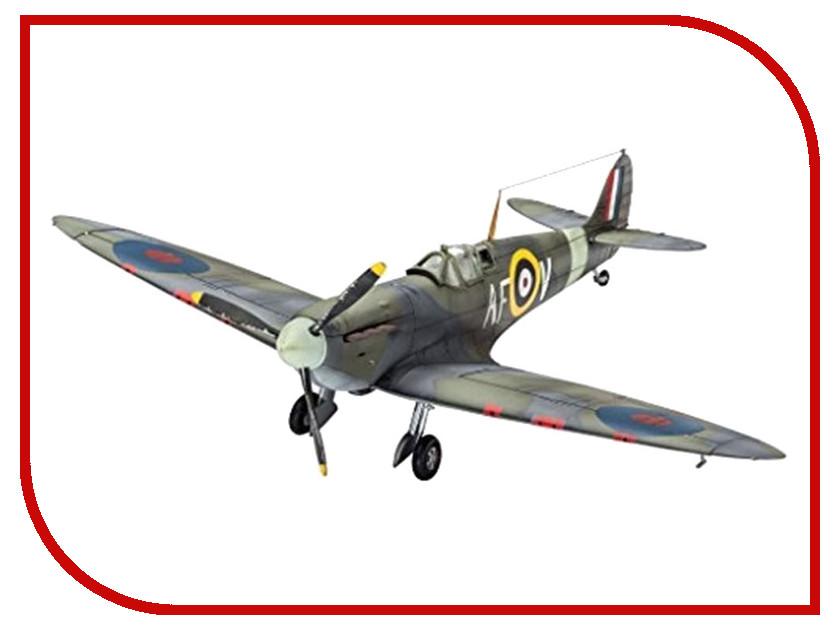 Сборная модель Revell Самолет Истребитель Spitfire Mk.IIa 03953R сборная модель revell самолет истребитель spitfire mk ii 03986r