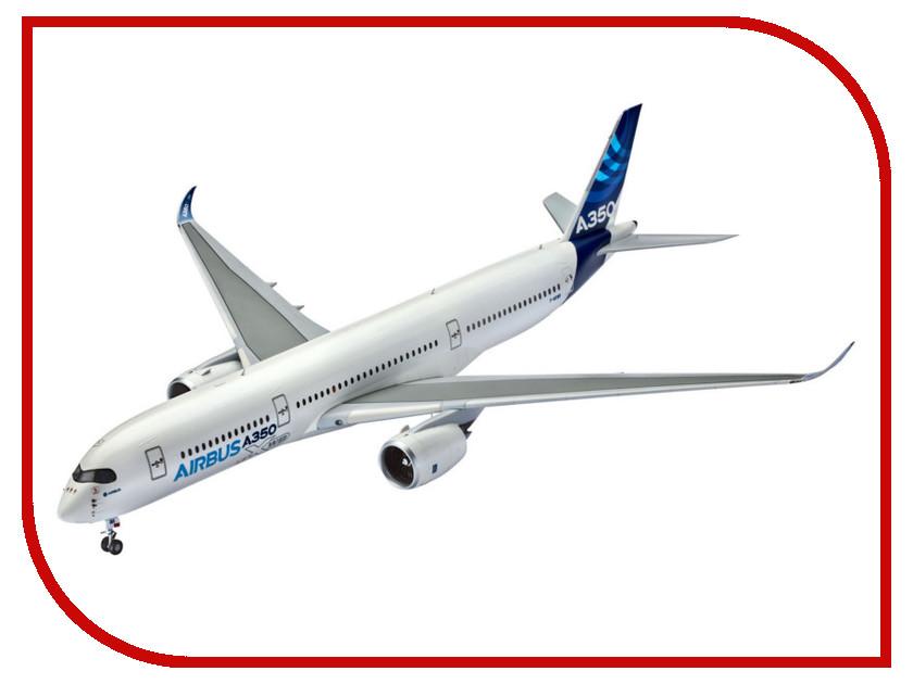 Сборная модель Revell Самолет Пассажирский Airbus A350 03989N самолеты и вертолеты revell сборная модель сборная модель пассажирский самолет dhc 6 twin otter 1 72