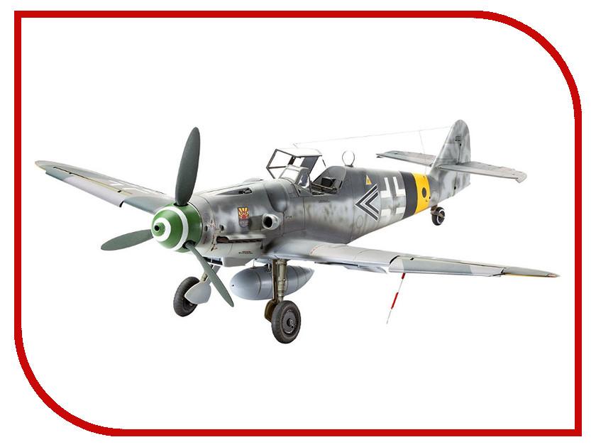 Сборная модель Revell Самолет Истребитель Messerschmitt Bf.109 G-6 04665R сборная модель zvezda самолет мессершмитт bf 109 f2 4802