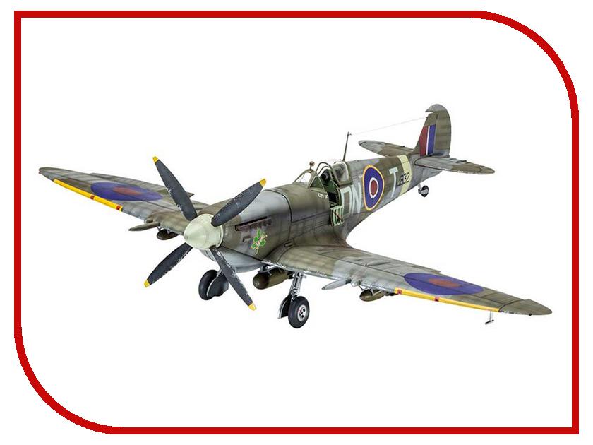 Сборная модель Revell Cамолет Истребитель Spitfire Mk.IXc 03927R сборная модель revell самолет истребитель spitfire mk ii 03986r