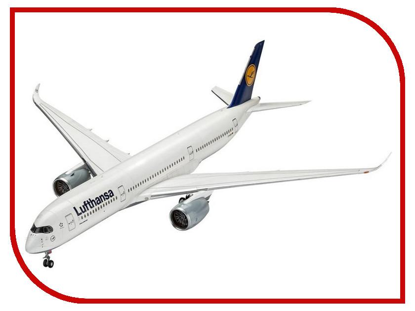 Сборная модель Revell Airbus A350-900 Lufthansa (03938) 1:144 geprc gep ax4 airbus 180mm wheelbase 4mm arm carbon fiber frame kit