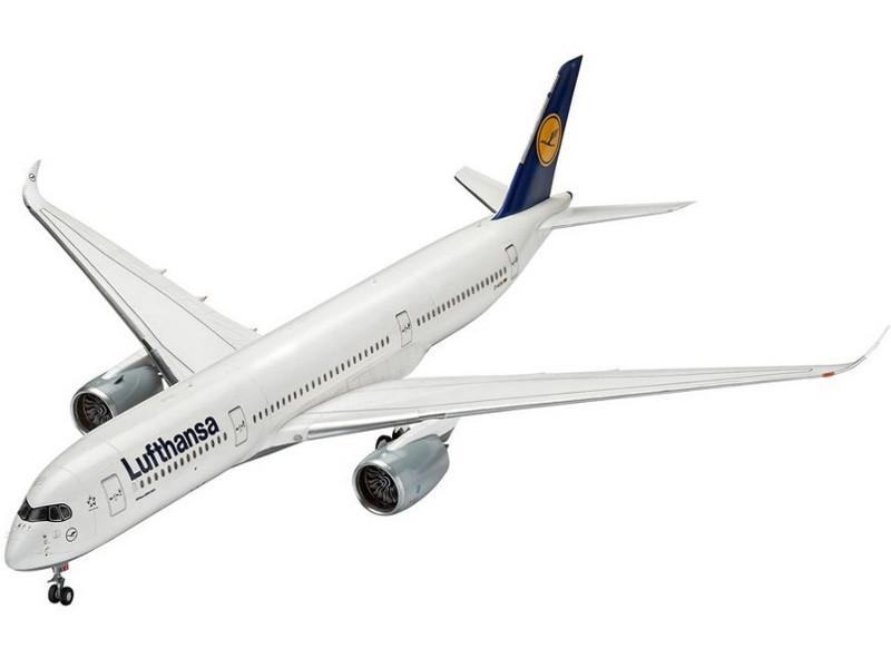 Сборная модель Revell Airbus A350-900 Lufthansa (03938) 1:144 сборная модель revell крестокрыл
