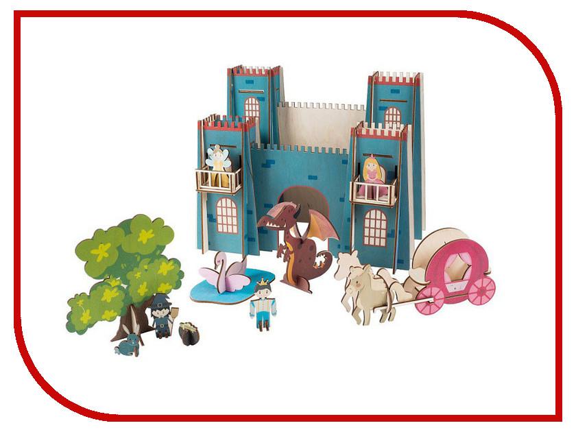 3D-пазл Большой слон Замок Принцессы Д-011 серебряный дневник принцессы