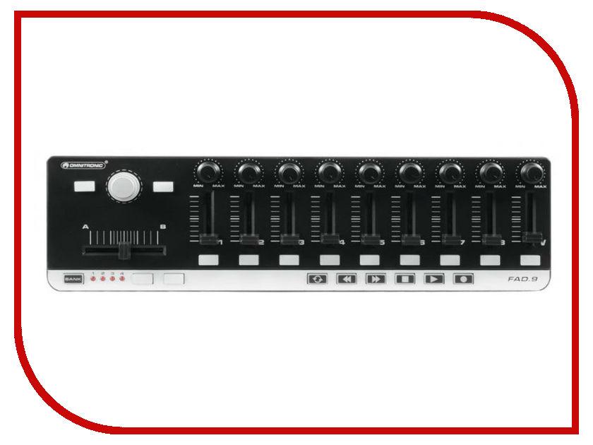 MIDI-контроллер Omnitronic FAD-9 midi контроллер g volca sample