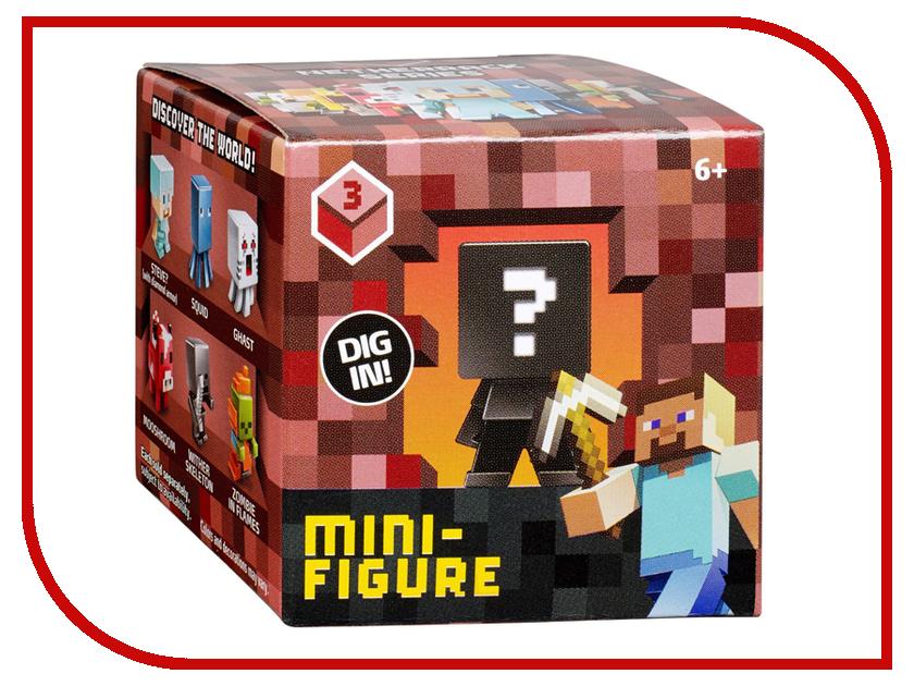 Игра Mattel Майнкрафт CJH36 mattel minecraft cjh36 майнкрафт фигурка персонажей