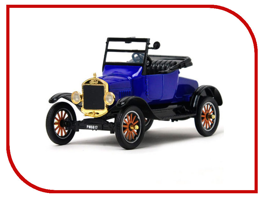 Игрушка Motormax Ford Model T - Runabout 1925 79327PTM игрушка t toyz wb t car открытые двери yellow 4601234567879