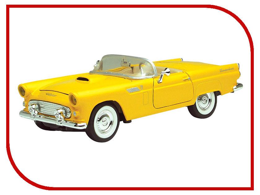 Игрушка Motormax Ford Thunderbird Convertible 1956 73215AC электромобили chien ti tcv 335 thunderbird