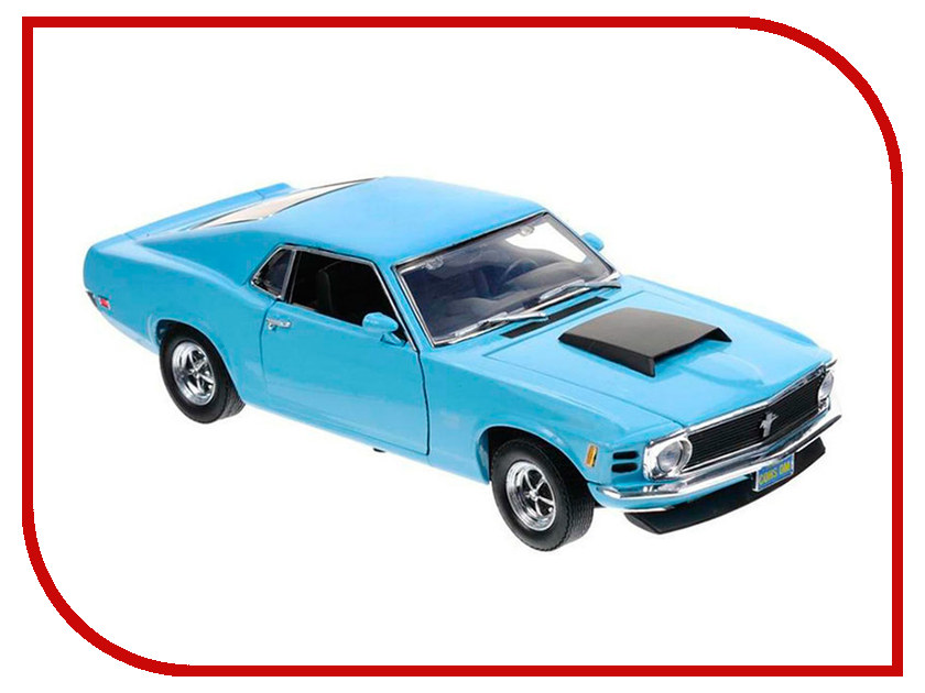 Игрушка Motormax Ford Mustang Boss 429 1970 73303AC 2011 ford mustang boss 302 red 1 24 by maisto 31269