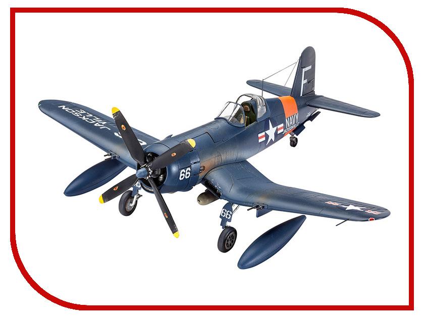 Сборная модель Revell Самолет Истребитель F4U Corsair 03955R revell самолет истребитель фокке вульф fw 190 a 8 r11 2 ая мв немецкий