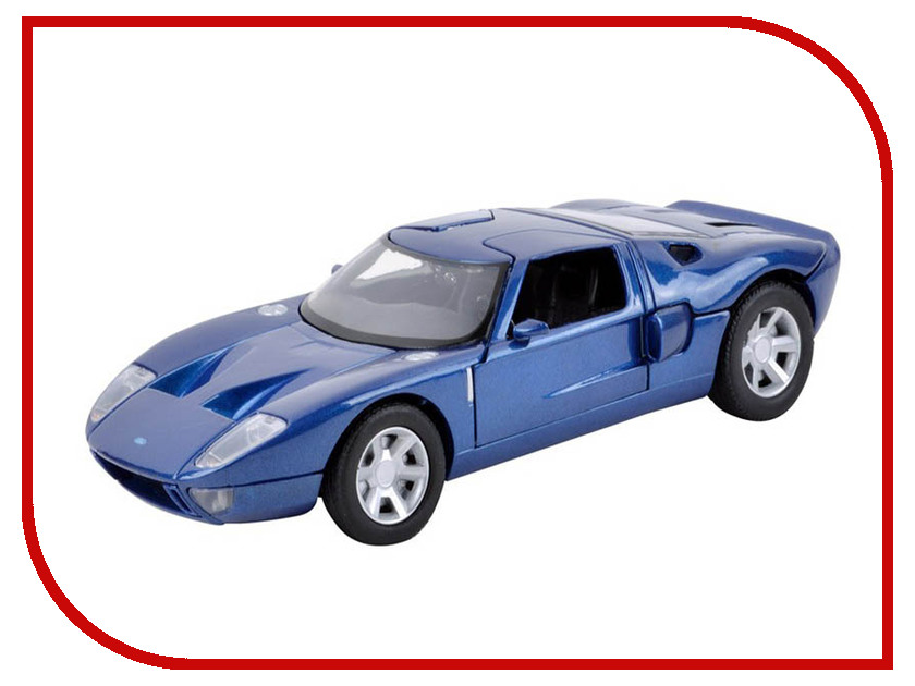 Игрушка Motormax Ford GT Concept 73297 hobbytech epx2 gt concept car grey edition 4wd rtr 1 8 2 4g 1 epx2 gt rtr2