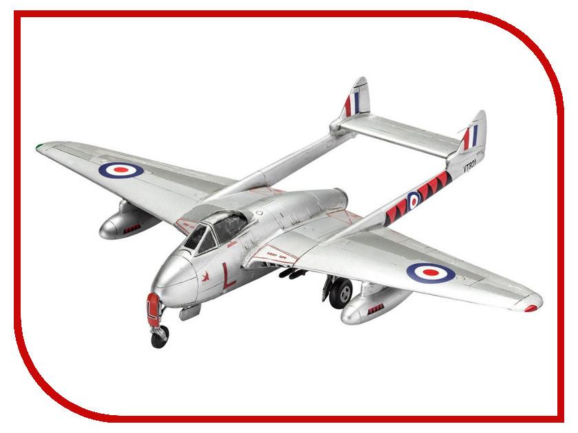 Сборная модель Revell Самолет Истребитель Vampire F Mk.3 03934R сборная модель revell самолет fairey gannet t 5