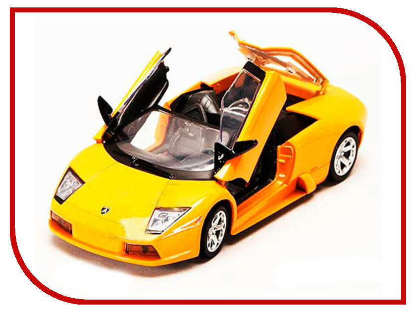 Игрушка Motormax Lamborghini Murcielago Roadster 73316 серьги moon paris moon paris mo038dwynx44