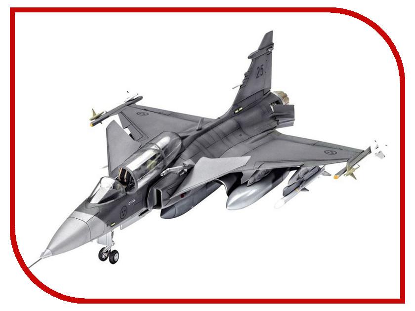 Сборная модель Revell Самолет Истребитель-бомбардировщик SAAB JAS-39D Gripen 03956R revell самолет бомбардировщик боинг b 17g летающая крепость американский