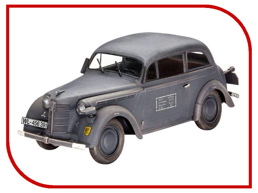 Фото - Сборная модель Revell Автомобиль немецких военнослужащих Kadett K38 Saloon 03270R конструкторы revell набор автомобиль vw beetle limousine 68 125 элементов