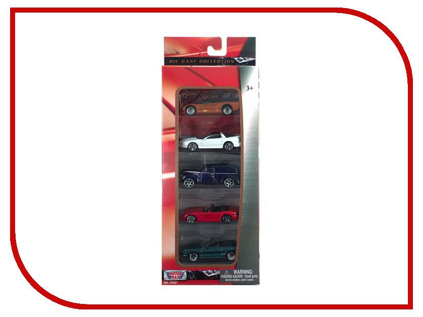 Игрушка Motormax Набор машинок 5шт 75601 motormax motormax грузовик для перевозки автомобилей с 3 машинками