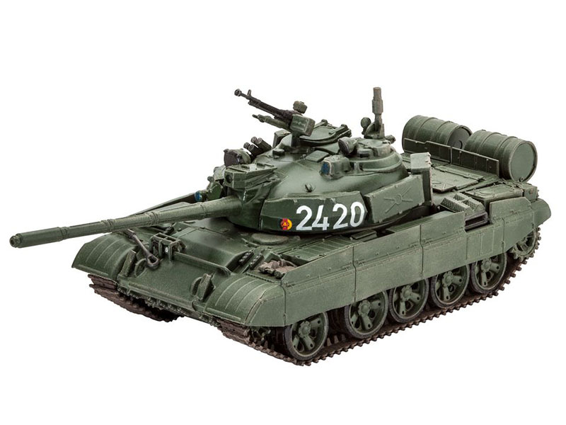 Сборная модель Revell Танк T-55AM / T-55AM2B 03306