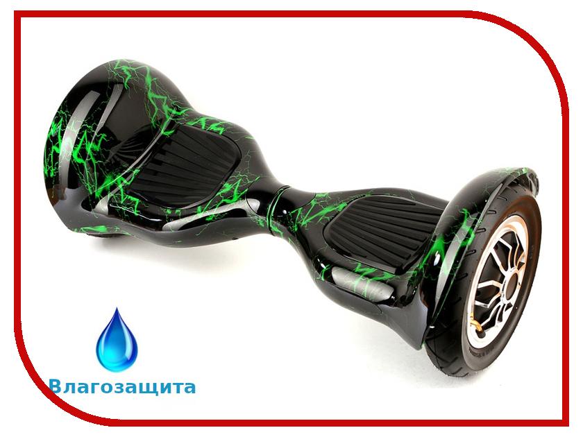 Гироскутер Asixbot Premium 10 TaoTao APP Самобалансировка + влагозащита Green Light