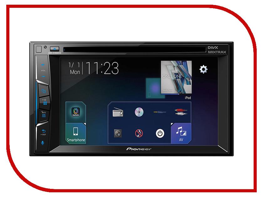 Автомагнитола Pioneer AVH-Z1100DVD автомагнитола dvd slk350 280 ml350 500 dvd