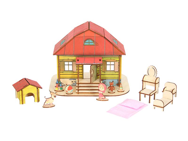 Кукольный домик Большой слон Маши 0025