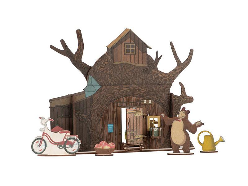 Кукольный домик Большой слон Мишки 0026 большой слон кукольный театр аленький цветочек