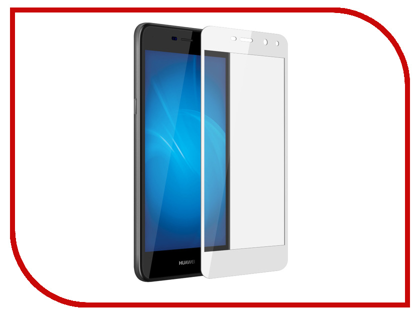 Аксессуар Защитное стекло для Huawei Y3 2017 Innovation 2D White 11748 аксессуар