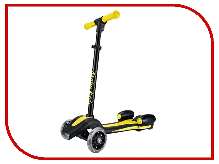 Самокат Moby Kids Junior Rocket Yellow 641156