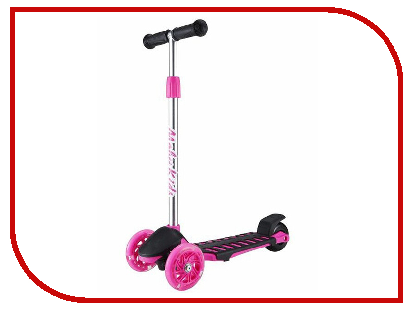 Самокат Moby Kids Junior Light 1.0 Pink