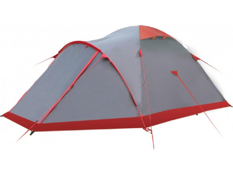 Палатка Tramp TRT-22 Mountain 2 V2 Grey