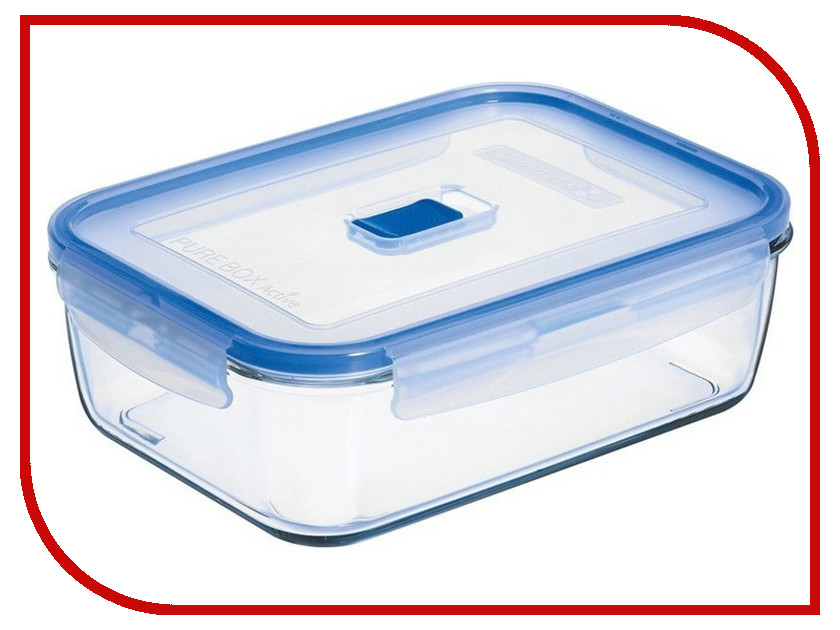 Контейнер Luminarc Pure Box Active Neon Mix 820ml N2405 контейнер для хранения продуктов luminarc pure box active 1 97 л