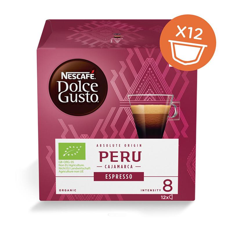 Капсулы Nescafe Dolce Gusto Espresso Peru 12шт 12355945