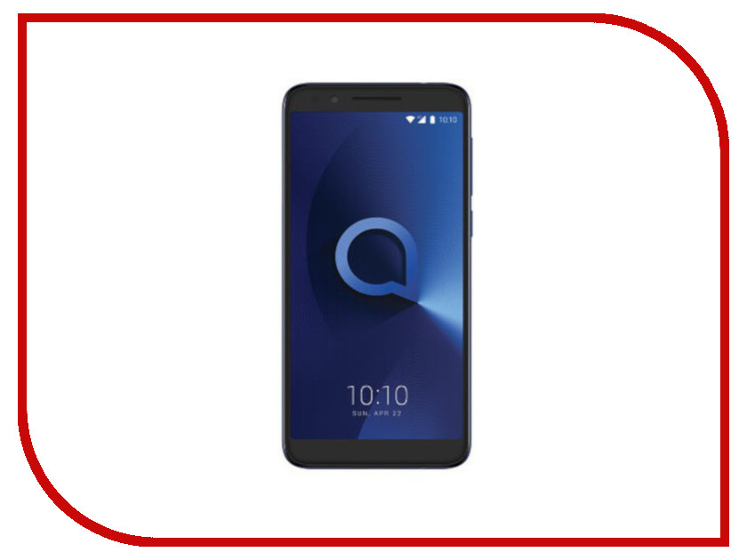 Сотовый телефон Alcatel 3L 5034D Metallic Blue телевизор thomson t43d19sfs