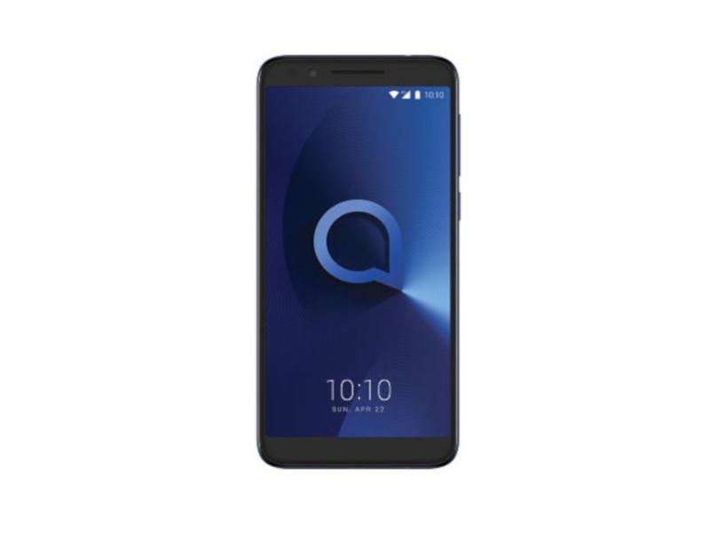 Сотовый телефон Alcatel 3L 5034D Metallic Blue сотовый телефон alcatel 3025x metallic gray