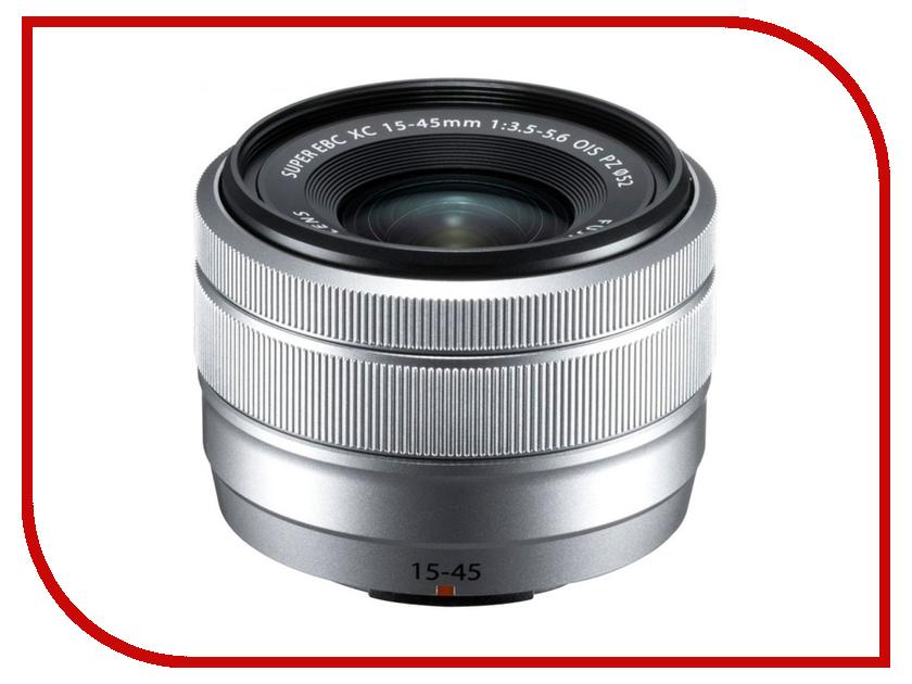 Объектив Fujifilm XC 15-45mm f/3.5-5.6 OIS PZ Silver new original xc e2da 12bit 2ao plc expansion modules