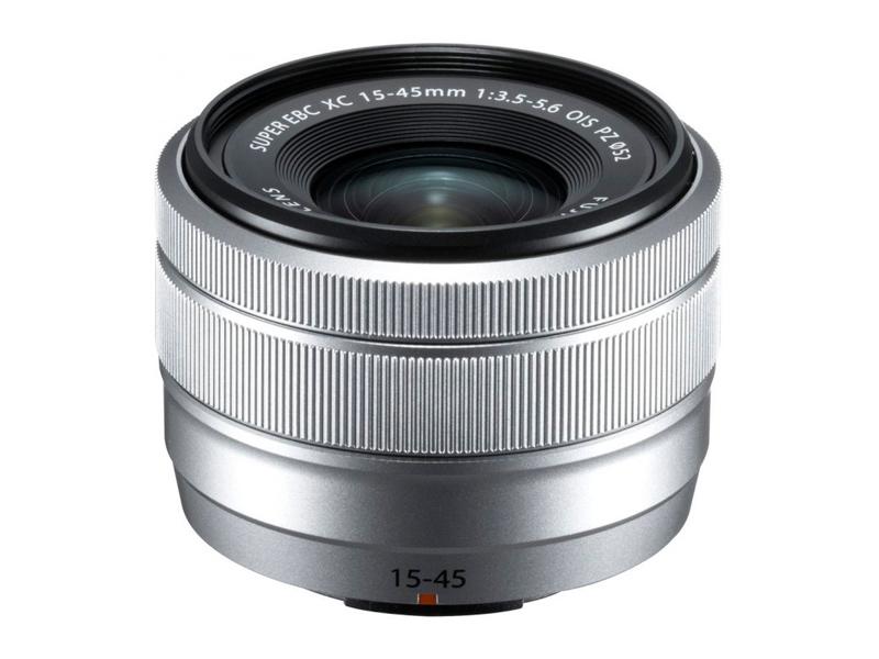 Объектив Fujifilm XC 15-45mm f/3.5-5.6 OIS PZ Silver цена и фото