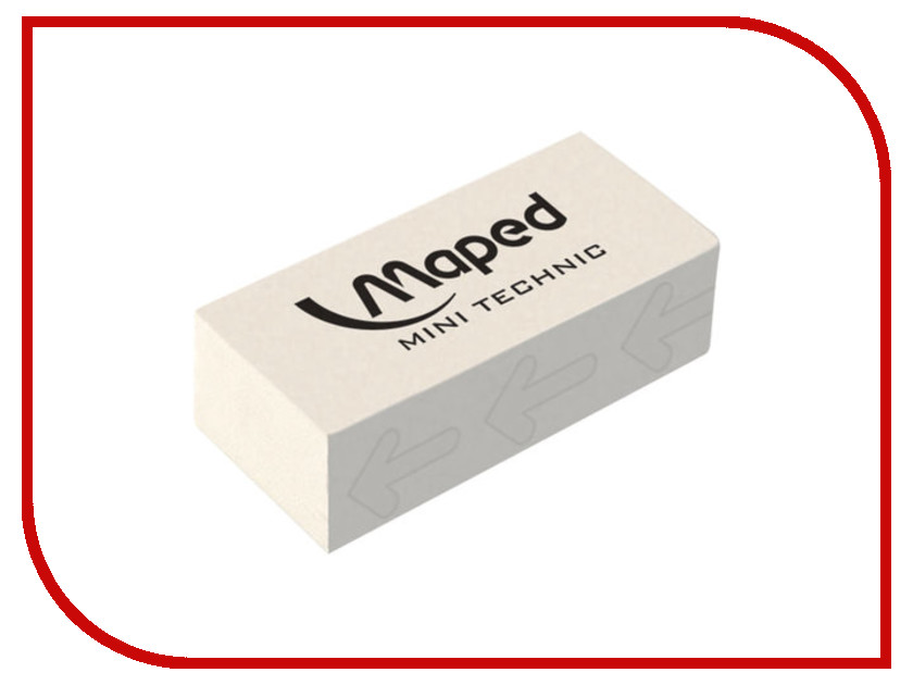 Ластик Maped Technic Mini White 011300 maped ergologic