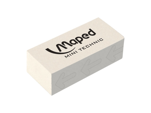 Ластик Maped Technic Mini White 011300