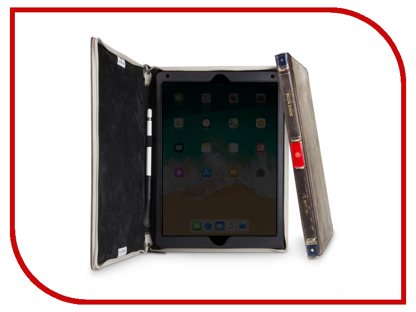 Аксессуар Чехол Twelve South BookBook Leather для APPLE iPad Pro 12.9 Brown 12-1750 twelve south fermata black 12 1637
